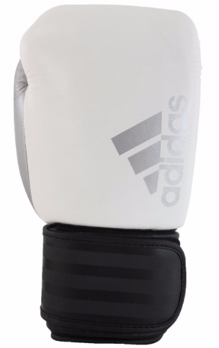 Adidas Hybrid 200 Boxing Gloves - White